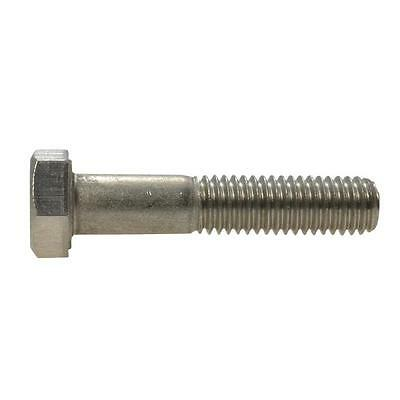 Hex Bolt M8 (8mm) Metric Coarse Screw Marine Grade Stainless Steel G316