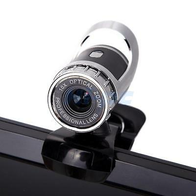 USB 1080P HD Computer WebCam Web Camera Video with Mic 360°for MSN Skype