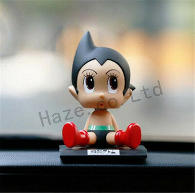 Anime Astro Boy Tetsuwan Atom Figures Model Collection Toy Car Ornament with Box