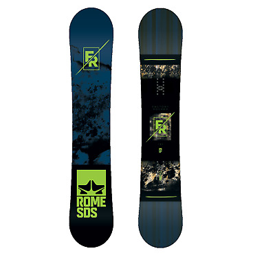 Rome Factory Rocker Mens 2018 Snowboard Board Snow Free Delivery Australia