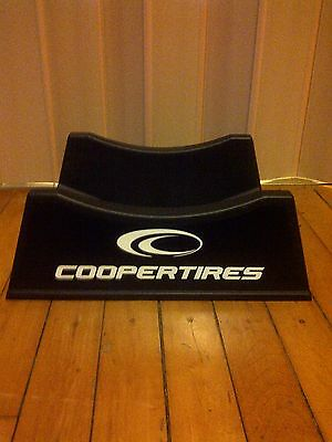 COOPER TIRES TIRE STAND PLASTIC DISPLAY RACKS - 2 Sided Set