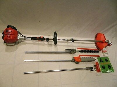 4 stroke GX25 engine 5 in 1 Petrol Hedge Trimmer Chainsaw trimmer Brush cutter