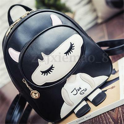 Women Leather Girl Travel Backpack Shoulder Rucksack Handbag Satchel School Bag