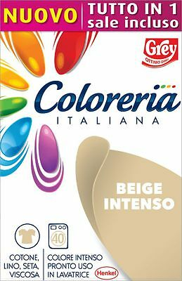 Grey Coloreria Italiana Colorante Pronto con Sale Incluso - BEIGE INTENSO