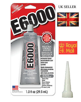 E6000 Clear Glue Industrial Strength for Rhinestones+Crystals Jewlry & bead 30ml