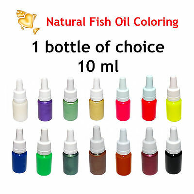 Edible Fishing Color Pigments for Soft Plastic Bait Mold DIY Lure Making