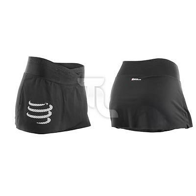 Compressport Trail Running Overskirt Black Damen Laufhose