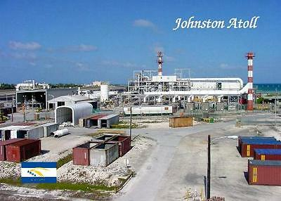 Johnston Atoll JACADS Building New Postcard