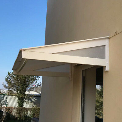uPVC Over Door Canopy Porch Rain Cover Awning Lean-to Shelter