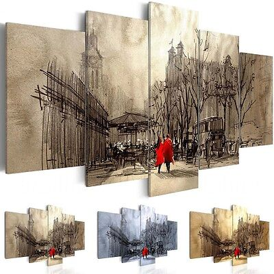Canvas Print Modern Picture Wall Art Modern Home Decor Abstract Street Painting