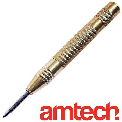 """HEAVY DUTY Automatic Centre Punch 5""""/125mm Spring Loaded Metal/Wood Dent Marker"""