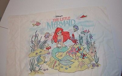 Disney Character Little Mermaid Standard Pillowcase Craft Material Double Side