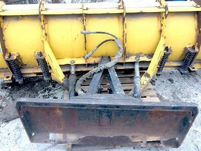 Skid Steer Snow Plow Attachment