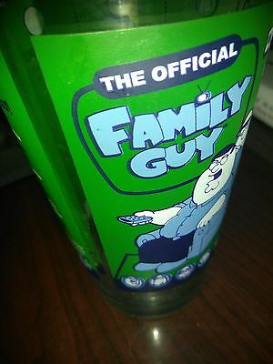 The Official Family Guy Drinking Game Pint Glass 16 oz - Great Condition!!