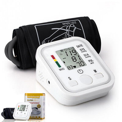Upper Arm Digital Automatic Blood Pressure Monitor Meter Intellisense 99 Memory