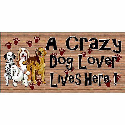"DOG LOVER LIVES HERE Dog Ceramic Tile Tumbleweed Pottery Decoration 5/""x5/"""