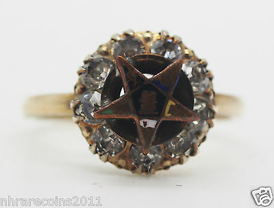 14 R.G.P. Ladies Order of the Eastern Star Ring
