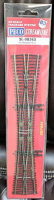 HO Scale - PECO STREAMLINE SL-U8363 UNIFROG Code 83 # 6 Double Slip Switch