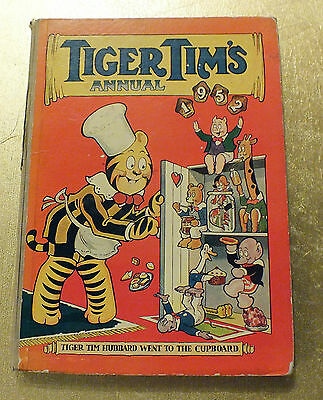 Tiger Tim's Annual 1952 A Picture and story book for boys and girls  Hardback