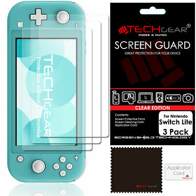 5 Pack of TECHGEAR Screen Protector Guard Covers for Nintendo Switch