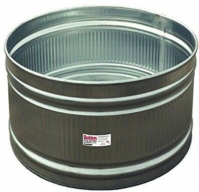 Behlen Country R32 3-Ft Galvanized Steel Round Stock Tank, Approximately 80