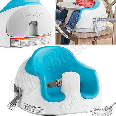 MULTI INFANT SEAT Baby 3 In 1 Stable Booster Floor Feeding Chair Safety Harness