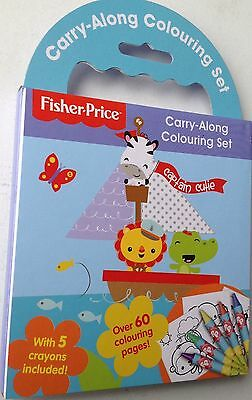 Fisher Price carry along colouring