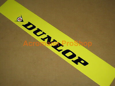 "53"" Dunlop Windshield decal sticker banner sun strip visor windscreen JDM USDM"