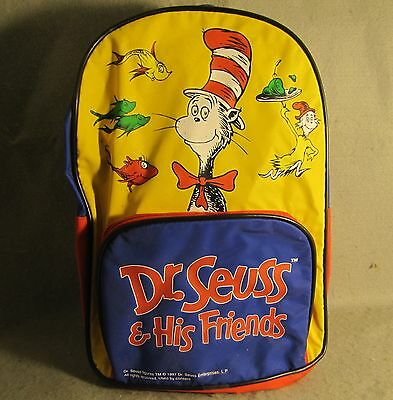 Dr. Seuss & His Friends Back Pack -- Cat in the Hat
