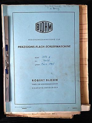 BLOHM MANUAL for : HFS6