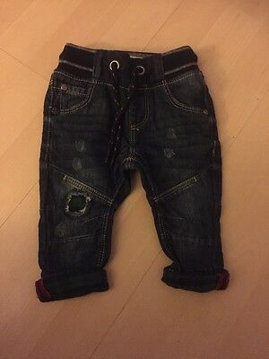 Next Baby Boy 3-6 Months Jeans Trousers Quirky/stylish/modern Free P+P