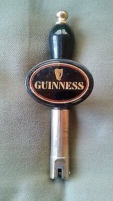 Vintage Guinness-Stout-Nitro-Draft-Beer-Tap-Handle-Brass-Kegerator-Homebrew-Bar