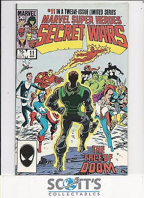 Secret Wars  #11  NM-