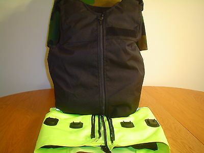 Male Nij Level 2A Bullet/stab Proof Vest Small/tall Mehler Combo Kit