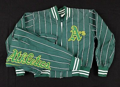 Vtg 1980s/1990s Oakland A's Jacket and Pants Youth Small athletics baseball mlb