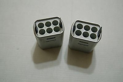2 Eppendorf   carrier  for 5804 Benchtop Centrifuge  A-4-44 rotor