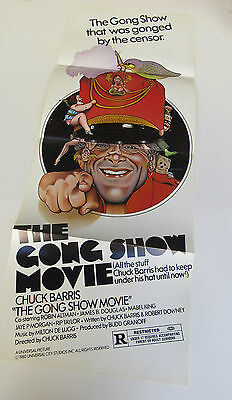 The Gong Show Movie 14X36 Insert Poster Chuck Barris Art By Nelson