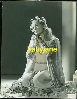 Carole Lombard Vintage 7X9 Photo By Coburn As Juliet 1942 To Be Or Not To Be
