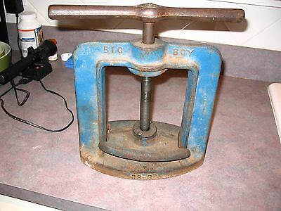 Vintage Handler MFG  *Big Boy* Dental Lab Flask Press