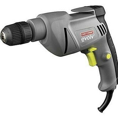 New Durable 120V 5.2 Amp Corded 3/8'' Drill Corded-Electric Bare-Tool