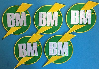 5 Lot Best Man BM  Wedding Crest YOU ME & DUPREE Movie Iron On Tuxedo Patches
