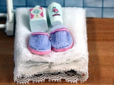 White Wash Accessories, Dolls House Bathroom Accessory. Miniature, Miniatures