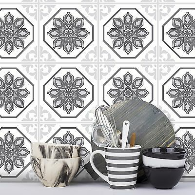 Traditional Tile Stickers Transfers 150mm x 150mm Kitchen Bathroom Furniture DIY