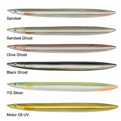 Savage Gear 3D Line Thru Sandeel Lures ! in stock crazy price