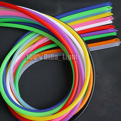 (2mm~8mm)Food Grade Silicone Tube Hose Pipe Red/Blue/Yellow/Green/Black lot