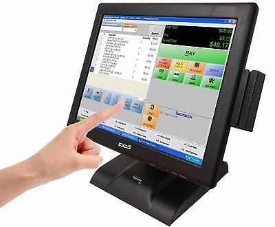 "POS 15"" Touch Screen LED TouchScreen Monitor Retail Kiosk Restaurant Bar"