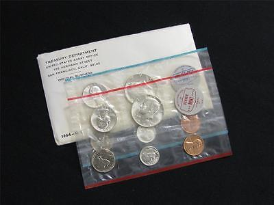 1964 P and D US Mint Uncirculated Silver Coin Set