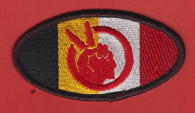 American Indian Movement Aim Tribal Flag  Patch   (Oval)