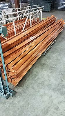 "144"" x 2.75""  Teardrop Pallet Rack Beams - perfect condition"