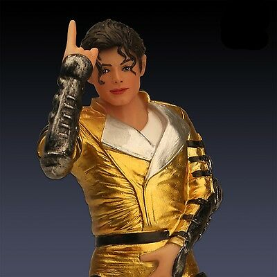 """7"""" Michael Jackson King Of Pop Resin Doll Action Figure Statue Limited Gifts"""
